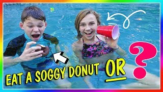 Download WOULD YOU RATHER - POOL EDITION | We Are The Davises Video
