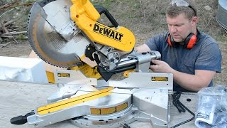 Download DEWALT 779 (DWS780) Double Bevel Compound Sliding Miter Saw Unboxing Video