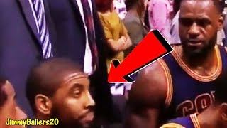 Download EARLY SIGNS of Kyrie Irving not wanting to play with LeBron James Video