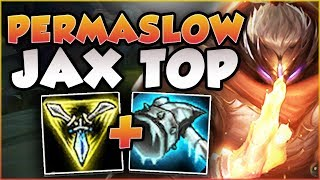 Download THERE IS NO ESCAPE! THIS PERMASLOW JAX BUILD IS 100% BUSTED! JAX TOP GAMEPLAY! - League of Legends Video