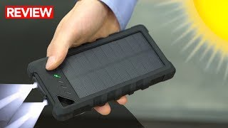 Download Best Waterproof Solar Power Bank - A MUST for Survival Kits! Video