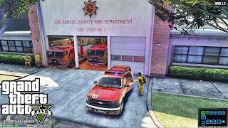 Download GTA 5 SAFD - Rescue Mod V - FIREFIGHTER 13 - (GTA 5 - Rescue Mod V - FIREFIGHTER )BATTALION 7 Video