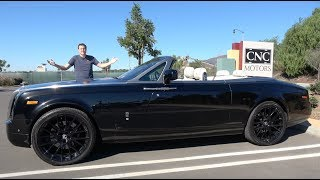 Download The Rolls-Royce Phantom Drophead Coupe Is an Ultra-Luxury Convertible Video