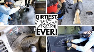 Download Cleaning The Dirtiest Car Interior Ever! Complete Disaster Full Interior Car Detailing Chevrolet SS Video