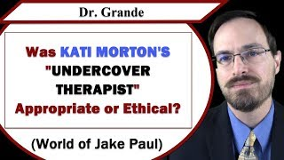 Download Was Kati Morton's Undercover Therapist Role Appropriate or Ethical? (World of Jake Paul) Video