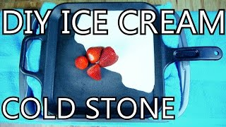 Download How To Make Ice Cream With A Frying Pan [DIY Cold Stone] - NightHawkInLight Video