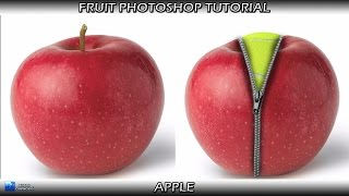 Download Fruit Photoshop tutorial apple Video