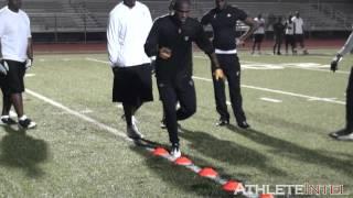 Download Antonio Brown Offseason Workout - AthleteIntel Video