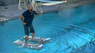 Download Will ″Canoe Shoes″ Let You Walk On Water? | MythBusters: The Search Video