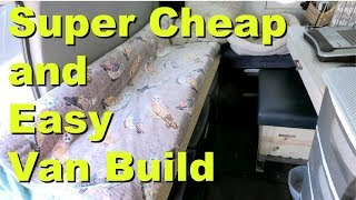 Download TOUR: Super Cheap and Easy Van Build Video