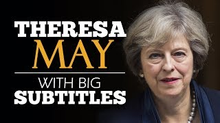 Download LEARN ENGLISH | THERESA MAY: Britain, the Great Meritocracy (English Subtitles) Video