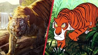 Download The Jungle Book Trailer Gets Animated | Disney Side by Side by Oh My Disney Video