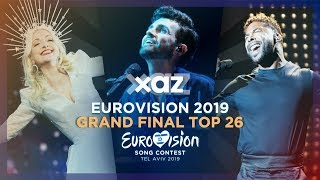 Download Eurovision 2019: Grand Final - Top 26 Video