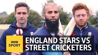 Download Can England's Moeen Ali, Jonny Bairstow & Chris Woakes play street cricket? | BBC Sport Video