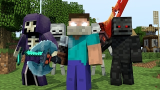 Download ♪ ″RAIDERS″ - MINECRAFT PARODY OF CLOSER BY THE CHAINSMOKERS″ ♫ (ANIMATED MUSIC VIDEO) ♫ Video