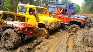 Download RC Cars MUD OFF Road — Land Rover Defender 90 and Hummer H1 #1— RC Extreme Pictures Video