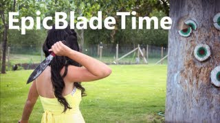 Download Knife Throwing Women Part 1 - Epic Blade Time Video