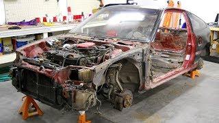 Download 1990 Honda CRX Total Restoration Project Video