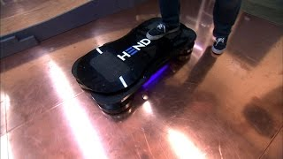 Download Crave - Taking a spin on a real-life hoverboard Video