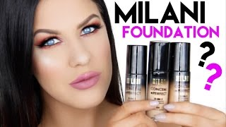 Download MILANI CONCEAL + PERFECT FOUNDATION FOR OILY SKIN?!! | FIRST IMPRESSION & REVIEW! Video
