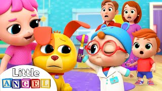 Download Baby Doctor Check Up | Boo Boo Song | Nursery Rhymes Little Angel Video
