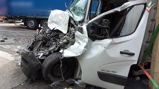 Download A45: LKW-Unfall am Stauende bei Hagen - RETTUNGSGASSE? FEHLANZEIGE! Video