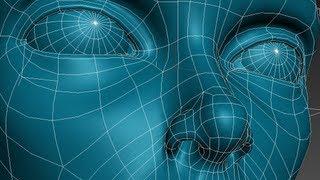 Download 3D Studio Max Face Modeling (short version) Video