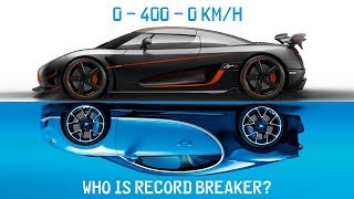 Download Bugatti Chiron Vs Koenigsegg Agera RS ► 0-400-0 Km/h Battle Video