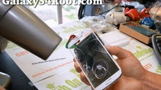 Download How to Replace Screen Glass Only on Galaxy S4! Video