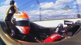 Download Castroneves takes pole, Hinchcliffe out at Indy 500 qualifying Video