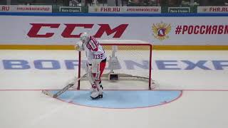 Download Pavel Francouz warms up during the Czech -Canada hockey game 15/12/17 Video
