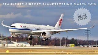 Download SPECTACULAR CROSSWIND LANDINGS + GO AROUND - STORM hits Frankfurt Airport - March 2019 Video