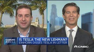 Download Greenlight's David Einhorn compares Tesla to Lehman Brothers Video