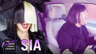 Download Sia Carpool Karaoke Video