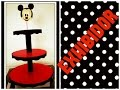 Download DIY EXHIBIDOR DE CARTON PARA CUPCAKES O GELATINAS DE MICKEY MOUSE Video