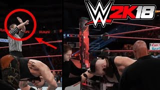 Download WWE 2K18: What Happens When You Take Too Much Damage? Video