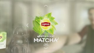 Download 360° Video New Lipton Magnificent Matcha Tea Takes You Inside the Cup Video