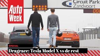 Download Dragrace: de Tesla Model X P100D vs. de rest - AutoWeek - English subtitles Video