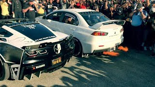 Download Evo X Destroys Muscle Cars In 2step Comp!!!! Video