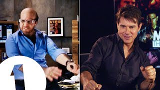 Download ″I want fat hands and I'm gonna dance″: Tom Cruise on how Tropic Thunder's Les Grossman got so gross Video