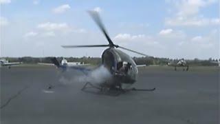 Download Schweizer Helicopter Crash @ A.I.M.- May 2008 Video