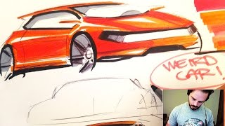 Download A Quick Car Sketching Trick I Want to Show You Video