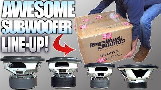 Download Entry Level & EXTRA LARGE Subwoofers w/ Resilient Sounds Car Audio Subwoofer Review | 10″ 12″ & 15″ Video