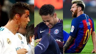Download Players Hunting on Neymar, Lionel Messi, Cristiano Ronaldo ● Horror Fouls & Tackles |HD (PART 3) Video