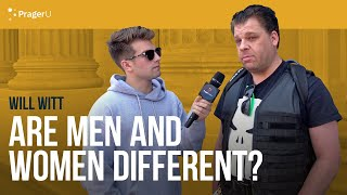 Download Will Witt Asks People if Men and Women are Different Video