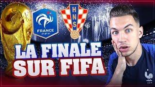 Download JE SIMULE LA FINALE DE CDM SUR FIFA ! FRANCE CROATIE ! Video