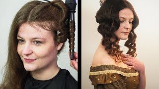 Download Historical Styles - Victorian (1860s) Hair and Make-up Tutorial Video