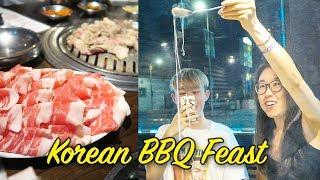 Download Korean Food in Koreatown LA (ft. Heyitsfeiii & Koreos) Video