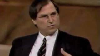 Download Steve Jobs interviewed just before returning to Apple Video