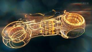 Download Tron (2010) - Light Bikes Battle - Only Action [1080p] Video